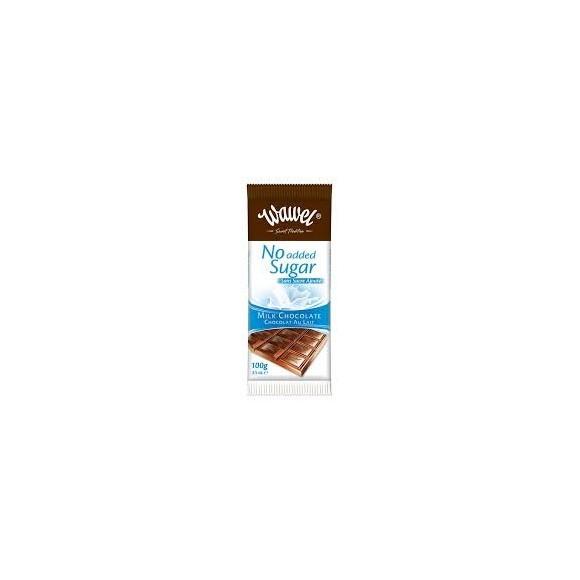 """Wawel Milk Chocolate ,,No sugar"""" 100g/3.5oz"""