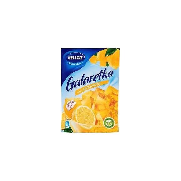 Gellwe lemon jelly 75g(B)