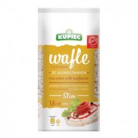 Kupiec Rice Cakes with Sunflower/Wafle Ryżowe ze Słonecznikiem 84g/2.9oz (W)