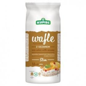 Kupiec Rice Cakes with Sesame/Wafle Ryżowe z Sezamem 90g/3.1oz (W)
