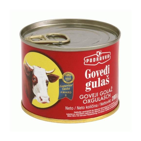 Podravka Beef Goulash / Govedji gulas 300g/10.5oz (W)