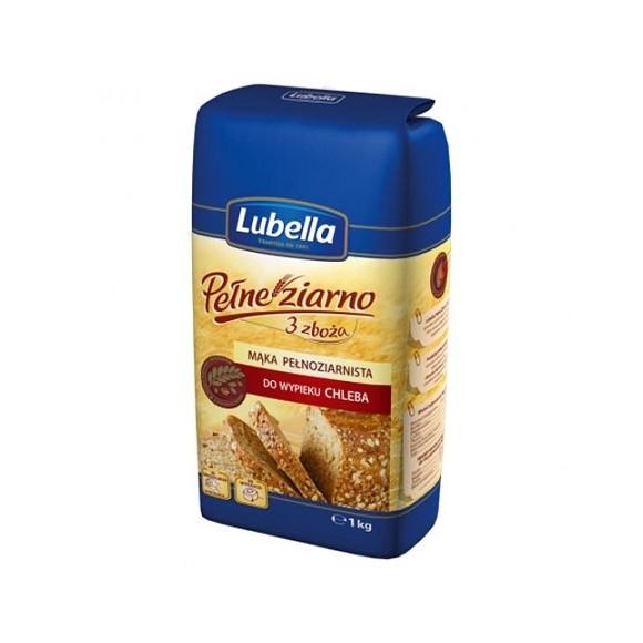 Lubella Whole Grain Flour for Bread 1kg/33.3oz (W)