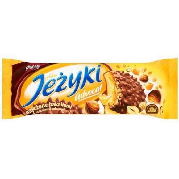 Goplana Jeżyki Advocat Milk Chocolate-Coated Biscuits 140g/4.93oz (W)