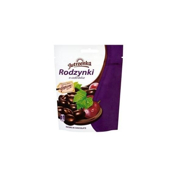 Jutrzenka Raisins in Dark Chocolate 80g/2.82oz