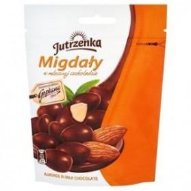 Jutrzenka Almonds in Milk Chocolate 80g/2.82oz (W)