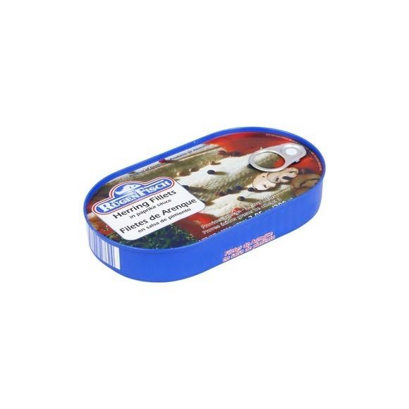 Rugen Fisch Herring Fillets in Paprika Sauce 200g/7.05oz (W)