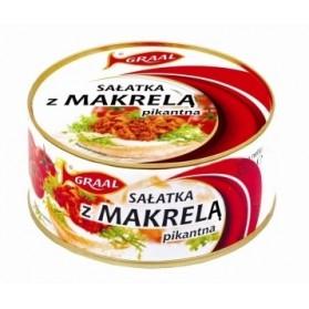 Graal Mackerel Salad Spicy / Salatka z Makrela Pikantna 300g (W)