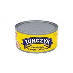 Graal Tuna Shredded Vegetable Oil / Tuńczyk Rozdrobniony w Oleju Roślinnym 185g (W)