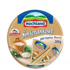 Hochland Processed Cheese Cream / Śmietankowy Topiony Serek 200g/7.05oz (W)
