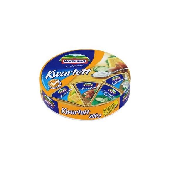 Hochland Processed Cheese / Kwartett Serek Topiony 200g/7.05oz (W)