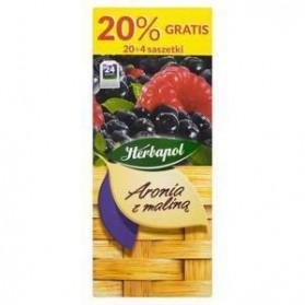 Herbapol Chokeberry with Raspberry / Aronia z Maliną 46g