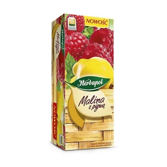 Herbapol Raspberry with Quinces Tea / Malina z Pigwą 20bag 46g (W)