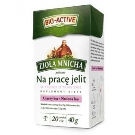 Bio-Active Ziola Mnicha Tea on Bowel / Na Pracę Jelit 20bag 40g (W)