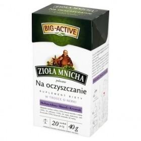 Big-Active Ziola Mnicha Tea Purification / Na Oczyszcznie 20-bag 40g (W)