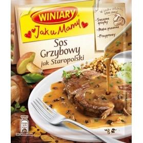 Winiary Old - Polish Mushrooms Sauce / Sos Grzybowy jak Staropolski 32g (W)