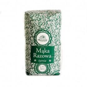 Mlynomag Wholemeal Rye Flour / Maka Razowa Zytnia 900g/31.75oz (W)