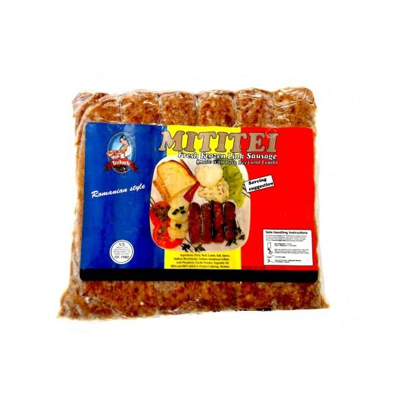 Mititei Fresh Frozen Link Sausage approx 2 lbs