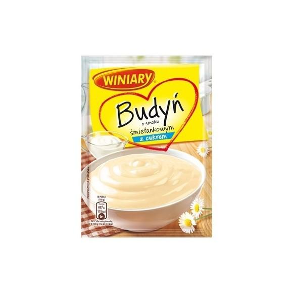 Winiary Cream Pudding with Sugar / Budyn Smietankowy z Cukrem 60g/2.12oz