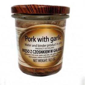 Cracovia Jar Pork with Garlic / Mieso z Czosnkiem w Galarecie 300g/10.5oz (W)