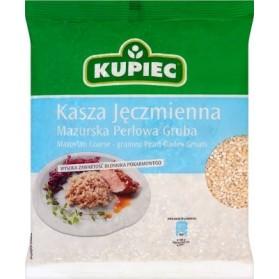 Kupiec Coarse Grained Pearl Barley Groats 400g/14oz (W)