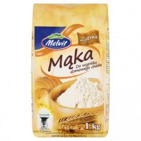 Melvit Rye Flour 1kg/2.20lb (W)