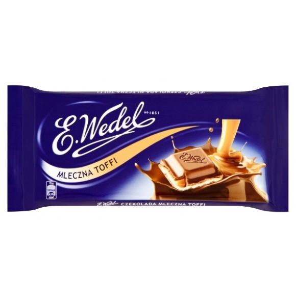 E. Wedel Toffee Milk Chocolate 100g / 3.53oz