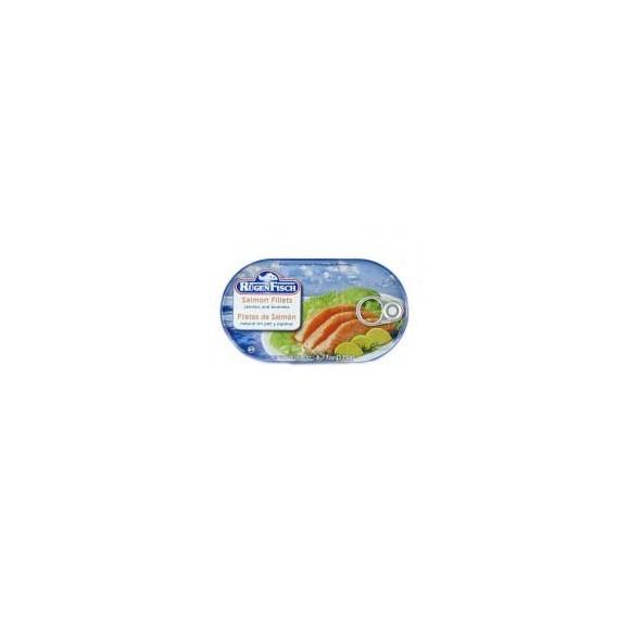Rugen Fisch Salmon Fillets, Skinless and Boneless 175g
