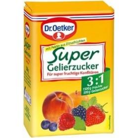 Dr.Oetker Super Gelling Sugar 3:1 / Gelierzucker Super 3:1 500g/17.5oz (W)