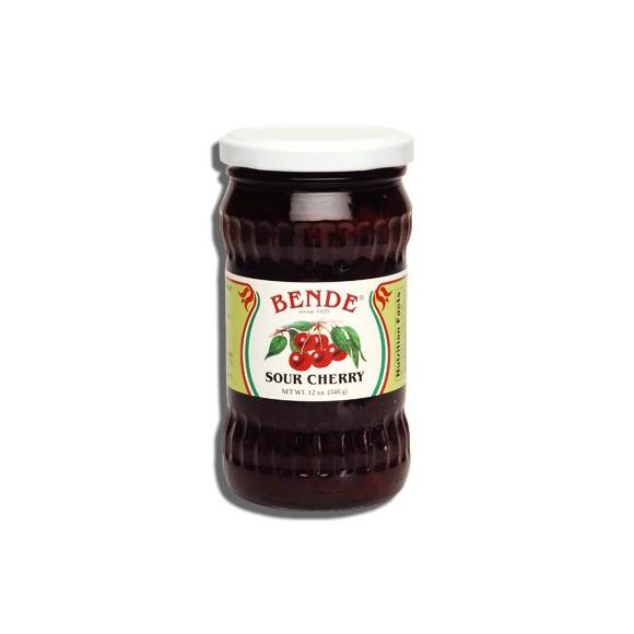 Bende Sour Cherry Jam 12oz/340g (W)