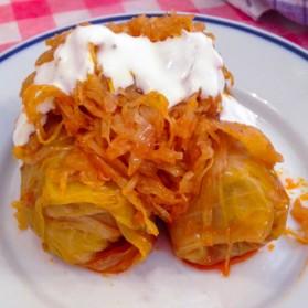 Töltött Káposzta / Hungarian Style Stuffed Cabbage 1.5 lbs