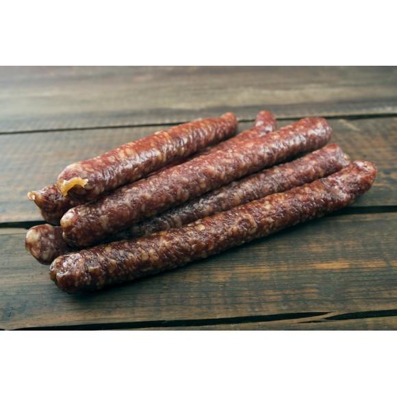 HOT Dry Pork Sausage / Cârnaţi uscaţi Oltenesti picant 1lb