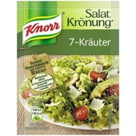 Knorr 7-Herbs Salad Seasoning / 7-Kräuter 5-Packx9g (W)