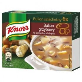Knorr Mushroom Bouillon Soup / Kostka Bulion Grzybowy, 6 pieces , 60g.
