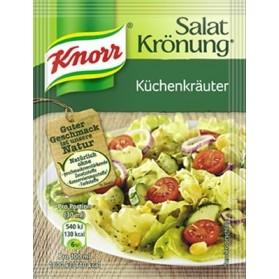 Knorr Kitchen Herbs Salad Seasoning / Salat Kroenung Kuechen Kraeuter 5 Pack 9gx5