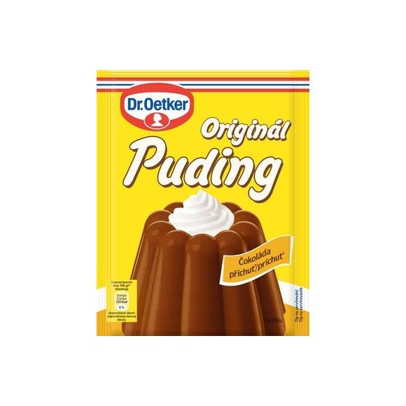 ORIGINAL PUDDING CHOCOLATE FLAVOUR ORIGINÁL PUDING ČOKOLÁDOVÝ 37g