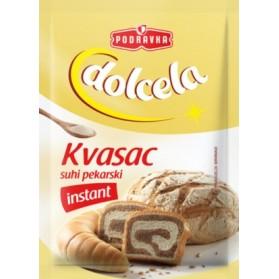 Podravka Kvasac Suhi Pekarski / Instant Dry Bakery Yeast 5 pack