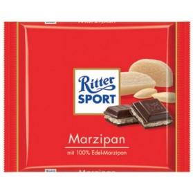 Ritter Sport Dark Chocolate with Marzipan 100g/3.5oz