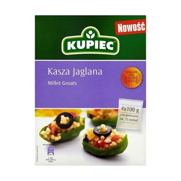 Kupiec Millet Groats / Kasza Jaglana 4x100g