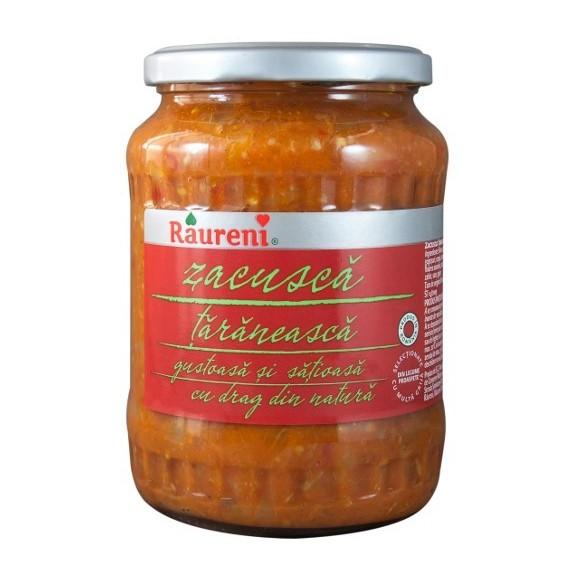 Raureni Zacusca Taranesca / Vegetable Spread 700g/25oz