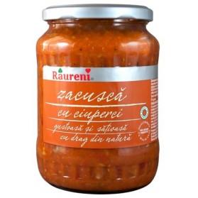 Raureni Zacusca Cu Ciuperci / Vegetable Spread with Mushrooms 700g/25oz