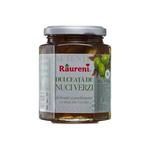 Raureni Dulceata de Nuci Verzi (green walnut confiture) 350g