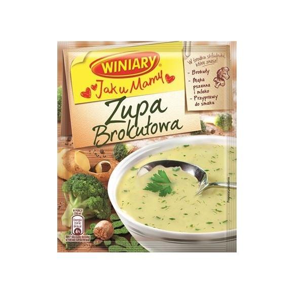 Winiary Broccoli Soup / Jak u Mamy Brokulowa 49g/1.79