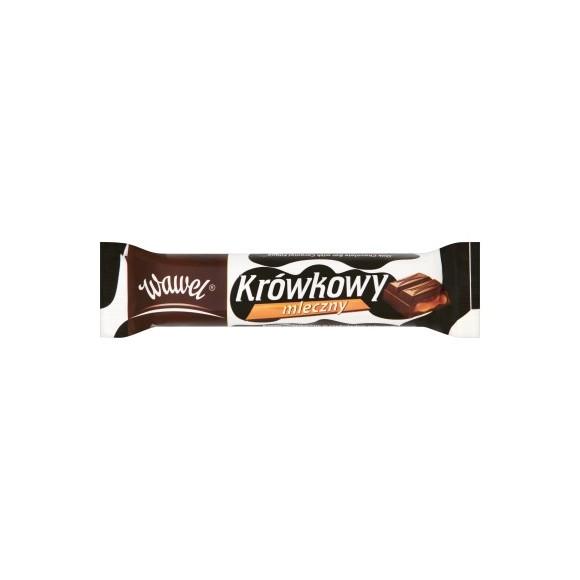 Wawel Milk Chocolate Bar with Caramel Filling / Krowkowy Mleczny 48g/1.7oz