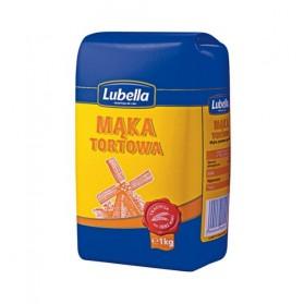 Lubella Fluffy Wheat Flour / Maka Pszenna Tortowa 1kg. / 2.20lb.