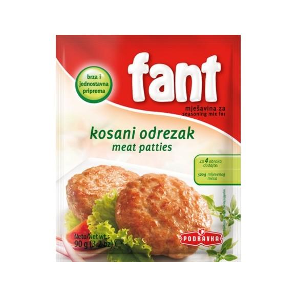 Podravka Fant Meat Patties / Kosani Odrezak 90g/3.2oz