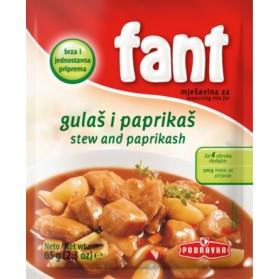 Podravka Fant Stew and Paprikash / Gulas i Paprikas 65g/2.3oz