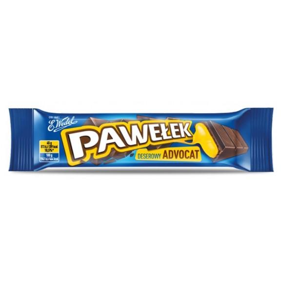 Wedel Pawelek Chocolate with Advocat Filling 45g/1.5oz