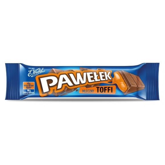 Wedel Pawelek Milk Chocolate with Toffee Filling 45g/1.5oz