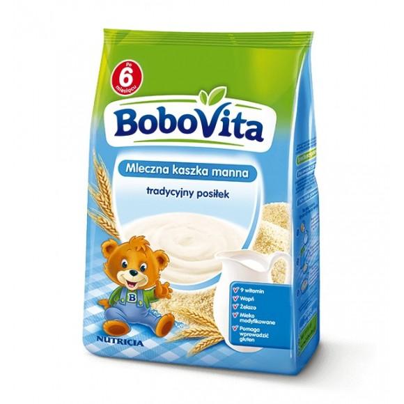 Bobovita Milk Semolina / Mleczna Kaszka Manna 230g/8.12oz