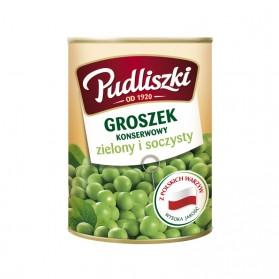 Pudliszki Green Peas 400g/14.10oz